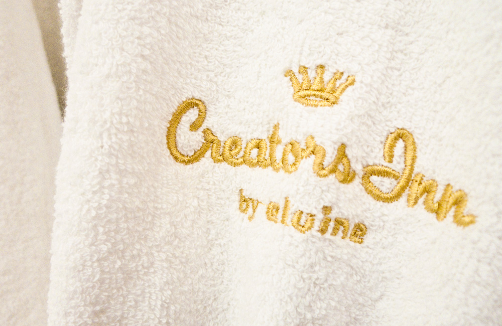 Embroided Creators Inn logo